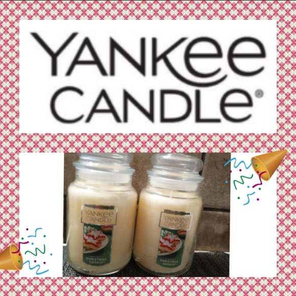 Christmas cookie 22 oz candles